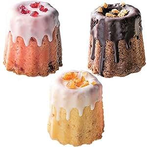 チョコレートがけのクグロフ3個のギフトセット1箱【結婚式 ホワイトデー 引き菓子 引出物 ギフトボックス入り プレゼント】