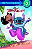 Go, Stitch, Go! (Step into Reading)