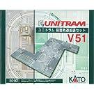 KATO 40-801 【N】ユニトラム 路面軌道拡張セット V51
