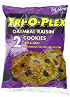 Tri-O-Plex Cookies, Oatmeal Raisin, 3 Ounce Package (Pack of 12)