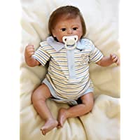 Lilith Realistic Lifelike 17インチ42 cm Lovely Cute Reborn人形that look realソフトボディシリコンビニール人形新生児幼児用おもちゃキッズ子供Xmasクリスマス誕生日ギフトwith Magneticおしゃぶり