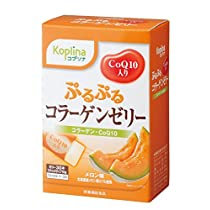 ぷるぷるコラーゲンゼリー (CoQ10入り) 30本入り 【メロン味 北海道産メロン果汁使用】賞味期限2017年5月19日