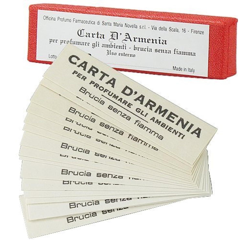 物思いにふけるボーカル政治的サンタマリアノヴェッラ アルメニア紙(お香) [並行輸入品] 18枚入り