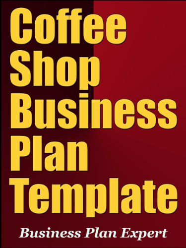 amazon coffee shop business plan template english edition