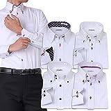 (アトリエサンロクゴ) atelier365 ワイシャツ 選べる6種類 5枚セット長袖 /at101-4L-47-86-AT101-Hset