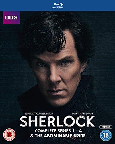 Sherlock - Season 1-4 Box Set [Blu-ray Region B](Import)