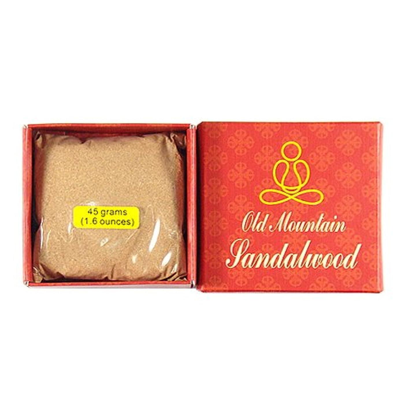 疲れた流行している懲らしめ古いMountainサンダルウッドパウダー – 45 gパック – 100 % Natural – e001t