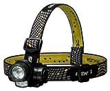 ジェントス LED ヘッドライト 【明るさ95ルーメン/実用点灯10時間/防滴】 HLX-449