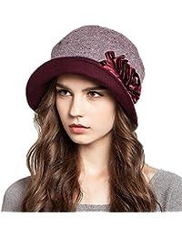 Maitose ™女性の装飾用の花ウールベレー帽