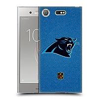 オフィシャル NFL フットボール カロライナ・パンサーズ ロゴ Sony Xperia XZ1 Compact 専用ソフトジェルケース