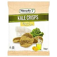 [Simply7] Simply7ケールチップスレモン&オリーブオイル70.8グラム - Simply7 Kale Crisps Lemon & Olive Oil 70.8g [並行輸入品]
