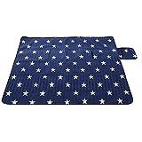 防水屋外のピクニック毛布、ビーチ旅行のための証拠のビーチマットのためのサンドプルーフと防水ピクニック毛布のトートバッグ