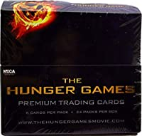 Neca Toys Trading Cards - The Hunger Games - BOX (24 Packs) [並行輸入品]