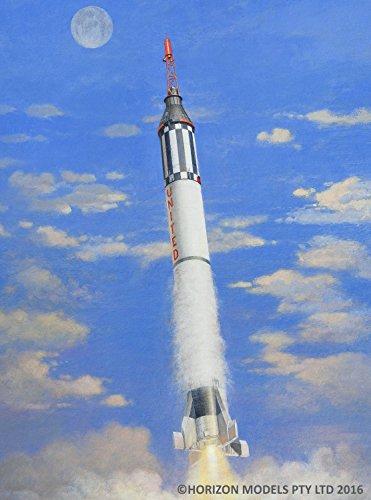ホライズンモデル 1/72 アメリカ初の有人宇宙ロケット マーキュリー・レッ...