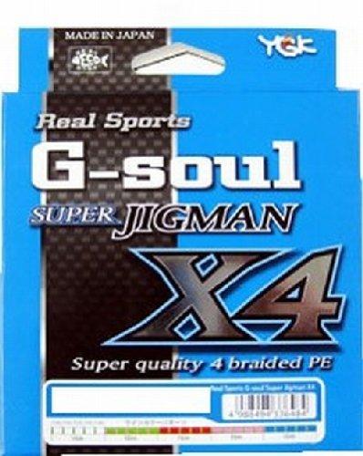 よつあみ(YGK) PEライン Gソウル スーパージグマン X4 300m 3号 40lb 4本 5色