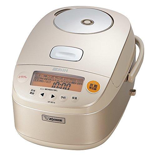 象印 炊飯器 5.5合 圧力IH式 極め炊き シャンパンゴールド NP-BE10-NZ