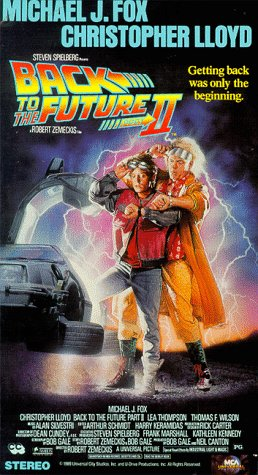 Back to the Future Part II [VHS] [Import]