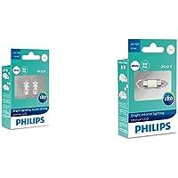 フィリップス ポジションランプ LED T10 6000K 50lm 12V 0.6W アルティノン LEDシリーズ 2…