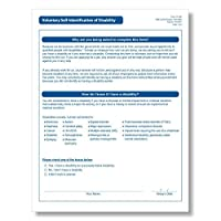 ComplyRight Voluntary Self-identification of Disability Form [並行輸入品]