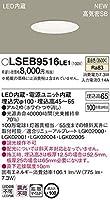 パナソニック(Panasonic) 浅型ダウンライト LSEB9516LE1 調光不可 温白色