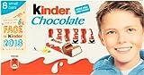 Kinder Chocolate (キンダーチョコレート) 100g (8ケ x 12.5g) - 4 packs 【並行輸入品】【海外直送品】