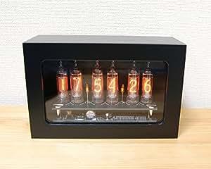 個数限定 4950円OFF Mat Black IN-16 nixie tube clock ニキシー時計 新築祝いに ギフトに