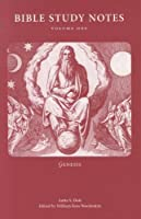 Bible Study Notes: Genesis