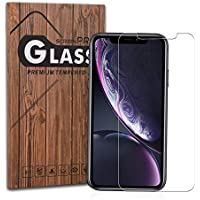 iPhone Xr フィルム 高透過率 Arae iPhoneXr ガラスフィルム 飛散防止 9H 旭硝子材 アイフォン Xr 6.1インチ 2018 対応用 強化ガラス