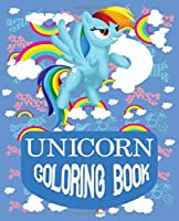 "Unicorn coloring book: Journal and Notebook for Girls - Composition Size 120 Pages of  (7.5""x9.75"") With Lined, Perfect for Journal and Notes."