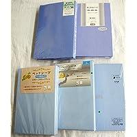 【訳あり/少々難有】日本製 ボックスシーツ お任せ特価 (ブルー, 100×200×28~35cm)