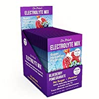 Electrolyte Mix: Super Hydration Formula + Trace Minerals | NEW! Blueberry Pomegranate Flavor (30 powder packets) Drink Mix | Dr. Price's Vitamins by Dr. Price's Vitamins