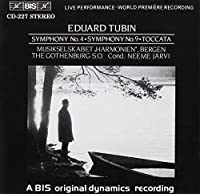Symphonies Nos. 4 And 9; Tocca by EDUARD TUBIN (1992-11-23)