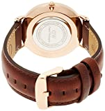 [ダニエルウェリントン]Daniel Wellington 腕時計 Classic St Mawes ホワイト文字盤 革ベルト 0507DW レディース 【並行輸入品】