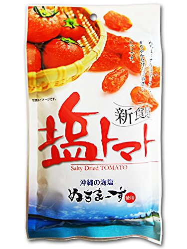 沖縄美健 新食感 塩トマト 沖縄の海塩 ぬちまーす使用 120g