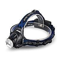 【HIKARI独占販売】 LEDヘッドライト USB 充電式 ヘッドランプ CREE 3点灯モード センサー機能 SOSフラッシュ機能 角度調節可能 防水 超高輝度 MAX5200ルーメン 防災・登山・夜釣り・キャンプ・夜作業等最適 1個YXD