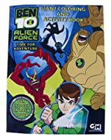 Ben 10 (ベン10) Coloring & Activity Book - Ben10 'エイリアン Alien Force' Coloring Activity Book by Cartoon Network[並行輸入品]