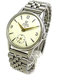 [オメガ]OMEGA 腕時計 シーマスター30 スモールセコンド文字盤 キャリバー268 アンティーク レア メンズ 中古