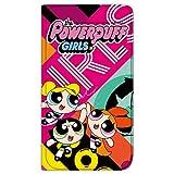 パワーパフガールズ iPhoneX ケース 手帳型 薄型プリント手帳 デザインA-D (ppg-004) カード収納 ストラップホール スタンド機能 WN-LC281708-MX
