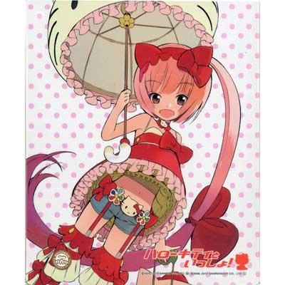 ハローキティといっしょ! マウスパッド 猫村いろは(Illustration by okama)単品