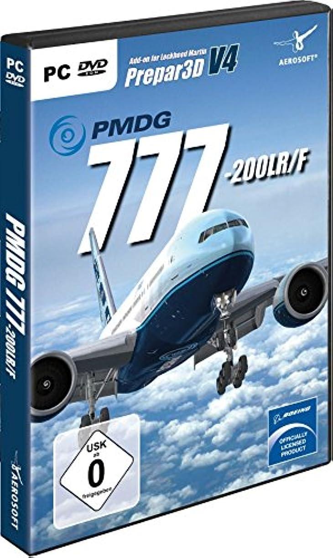 バット必要条件メジャーPMDG 777-200LR/F for P3D V4 (輸入版)