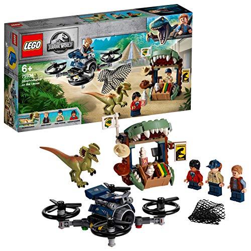 レゴ(LEGO) ジュラシック・ワールド 解き放たれたきょうりゅう 75934