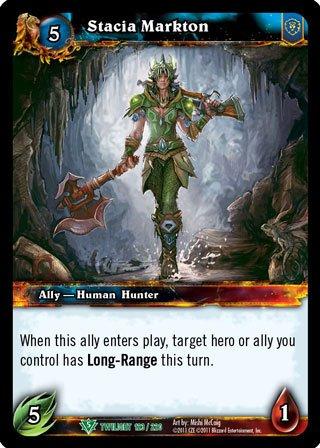 World of Warcraft TCG - Stacia Markton (123) - Twilight of the Dragons