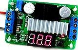 昇圧 型 可変 変換 DC- DC コンバーター 基板 デジタル 電圧計 付き 3.5V-30V 100W 抵抗 回路 仕組み (レッド)
