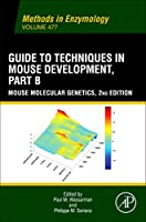 Guide to Techniques in Mouse Development, Part B: Mouse Molecular Genetics (Methods in Enzymology)