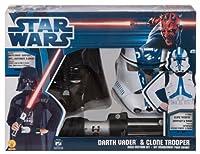 Star Wars - Darth Vader & Clone Trooper Dress Up Set スターウォーズ - ダースベイダー&クローン・トルーパードレスアップセット♪ハロウィン♪サイズ:Medium (8-10)
