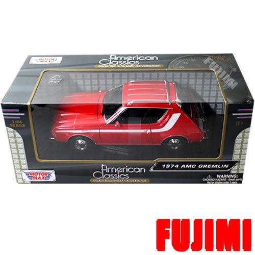 ノーブランド品 1974 AMC GREMLIN 1/24 red MOTOR MAX [並行輸入品]