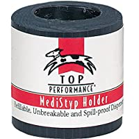 Top Performance MediStyp Holder - Durable Holder for Dispensing Styptic Powder for Dogs and Cats, Black by Top Performance