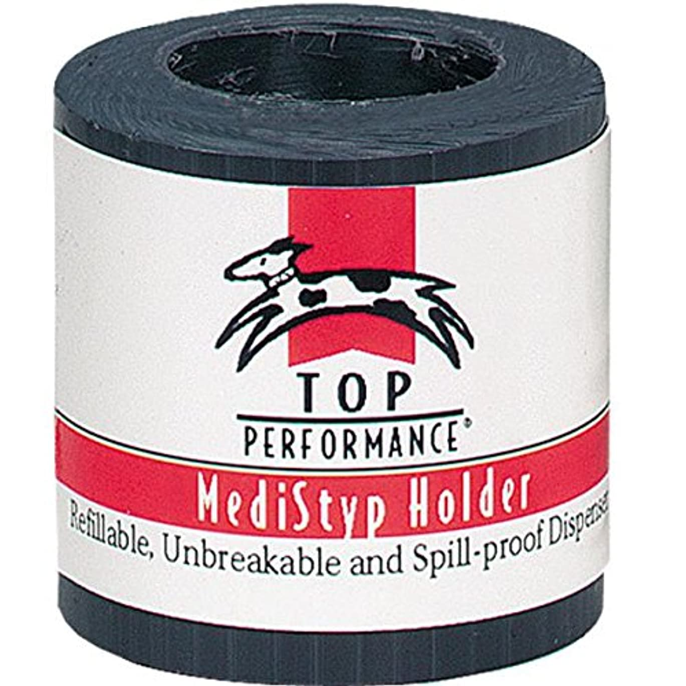 肺起業家南西Top Performance MediStyp Holder - Durable Holder for Dispensing Styptic Powder for Dogs and Cats, Black by Top Performance