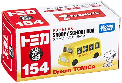 『トミカ ドリームトミカ No.154 スヌーピースクールバス』の1枚目の画像
