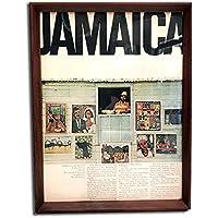 ジャマイカ 1960年代 ビンテージ広告 ポスター アートフレーム 額付
